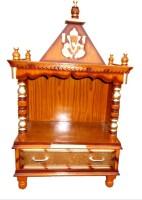Vishwakarma Furniture Wooden Home Temple(Height: 98 cm)
