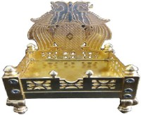 Excellent4U Singhasan Brass Home Temple(Height: 16 cm)