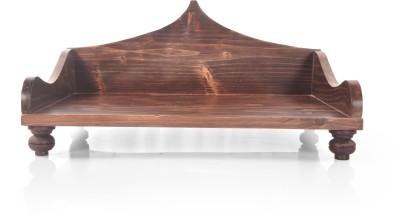 Designer Lanes Premium Wooden Home Temple(Height: 25.4 cm)