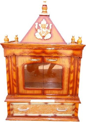 Vishwakarma Furniture Wooden Home Temple(Height: 88 cm)