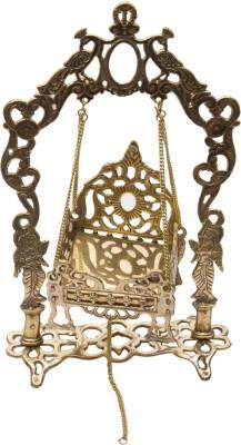 Holy Glory Big Folding Krishan Jhoola No.5 Brass Home Temple