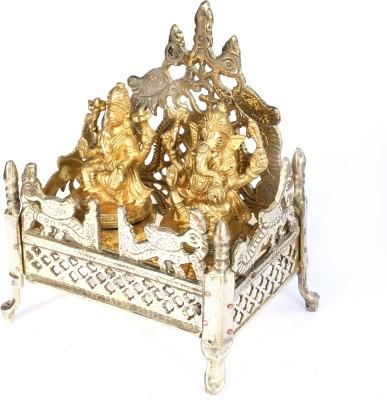 SKM Polish With Ganesha Laksmi Idols Brass Home Temple