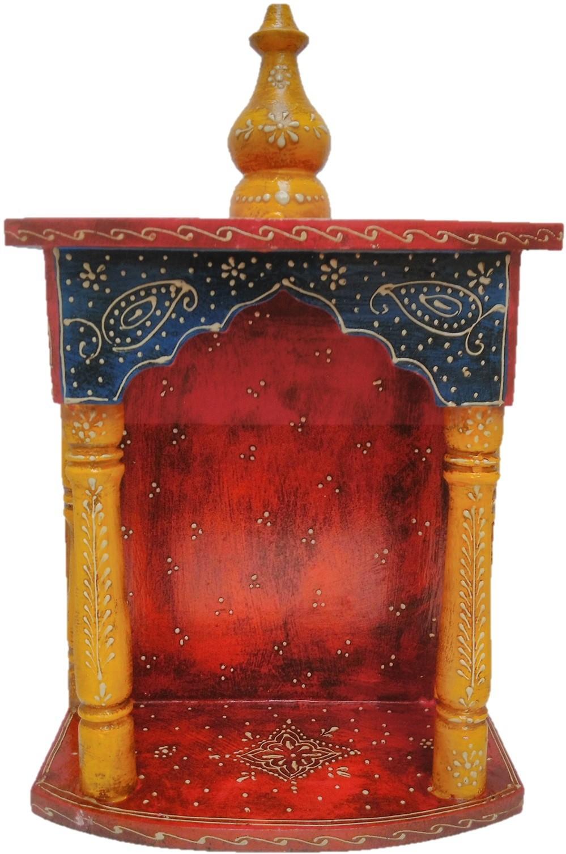 View JaipurCrafts Wooden Home Temple(Height: 43.18 cm) Furniture (JaipurCrafts)