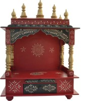Jordaar Wooden Home Temple(Height: 60 cm)