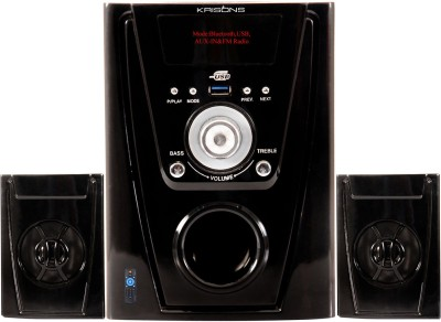 KRISONS (POLO) 2.1 MULTIMEDIA SPEAKER FOR HOME/ THEATRE USE 2.1 Home Cinema(MP3)