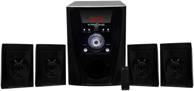 KRISONS (POLO) 4.1 MULTIMEDIA SPEAKER FOR HOME/ THEATRE USE 4.1 Home Cinema(MP3)
