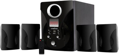 KRISONS (ETERNITY) 4.1 MULTIMEDIA SPEAKER FOR HOME/ THEATRE USE 4.1 Home Cinema(MP3)