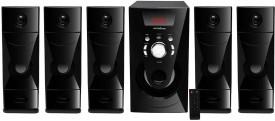 "KRISONS (Macho 5.25"" Woofer) 5.1 Bluetooth Multimedia Speaker for Hom/Thatre Use 5.1 Soundbar(MP3)"