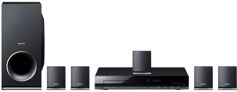 Sony DAV-TZ145 5.1 2 Front Speakers, 2 Surround Speakers, 1...