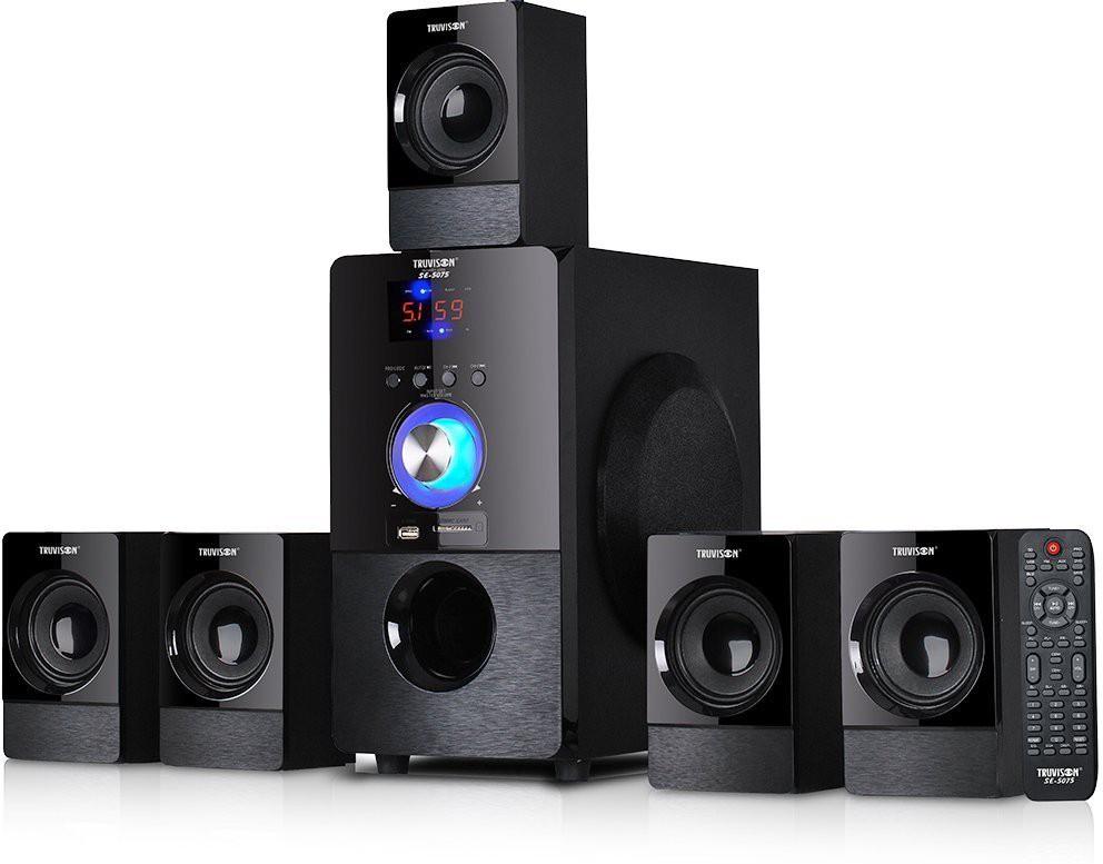 Truvison SE-5075BT Multimedia System with Bluetooth 5.1 Soundbar(DVD)
