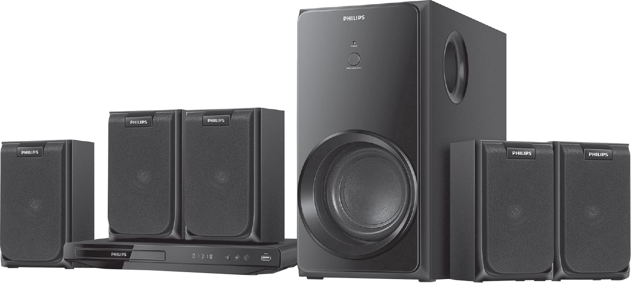 philips htd2520 51 home theatre system best price in india. Black Bedroom Furniture Sets. Home Design Ideas