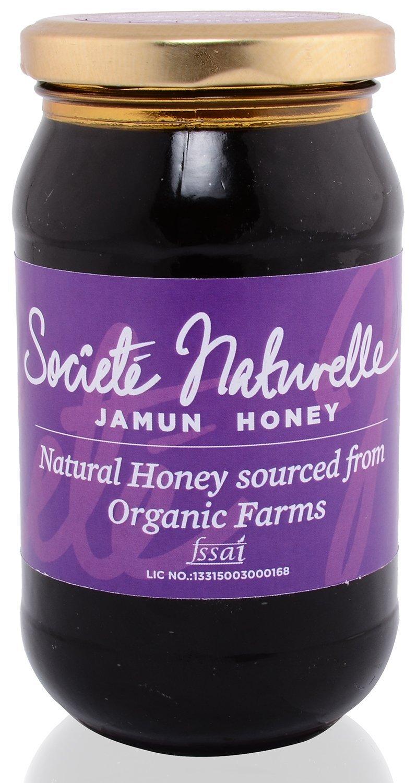 Societe Naturelle ORGANIC- NATURAL JAMUN Flavored Filtered Honey