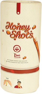 True Elements 25 Single Servings Of Raw Honey Raw Squeeze Raw Honey