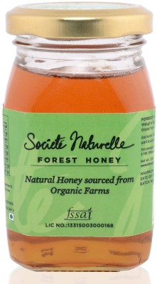 Societe Naturelle ORGANIC- NATURAL FOREST Flavored Filtered Honey