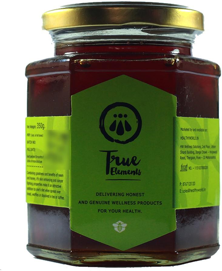 True Elements Staples Neem Flavored Strained Honey