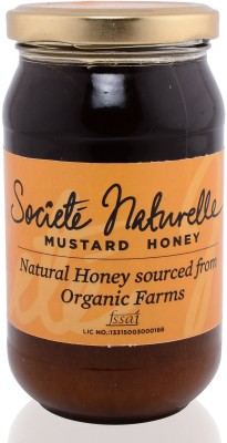 Societe Naturelle ORGANIC- NATURAL MUSTARD Flavored Filtered Honey