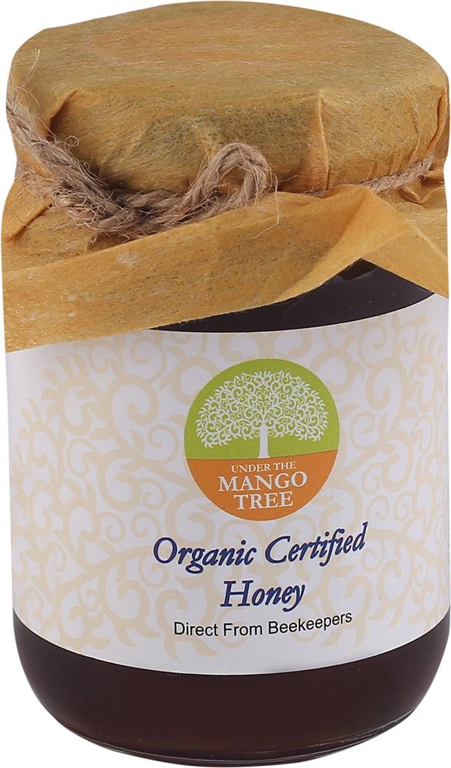 Under The Mango Tree Organic Certified Pure Organic Comb Honey