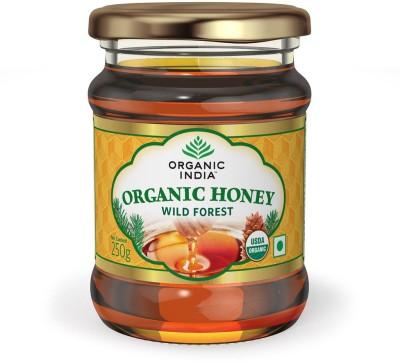 Organic India Honey Wild Forest NA Organic Filtered Honey(250 g, Pack of 1)