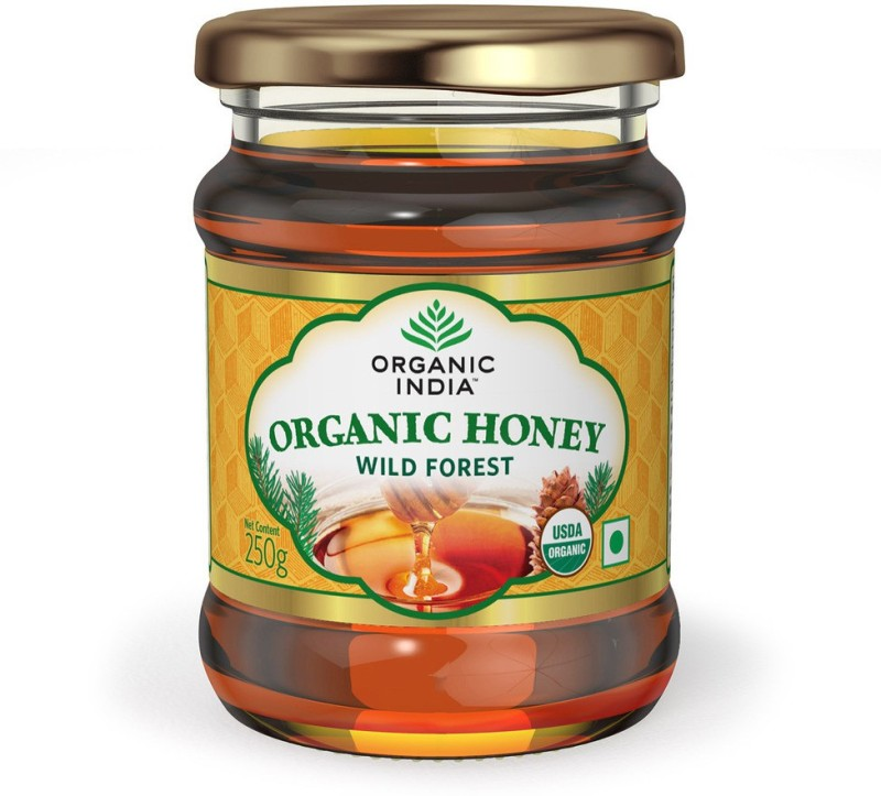 Organic India Honey Wild Forest NA Organic Filtered Honey(250 g, Pack of 1)