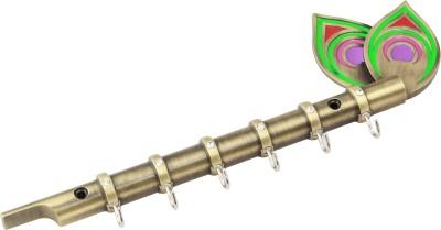 Sunrise Flute With Brass Hooks 6 - Pronged Key Holder
