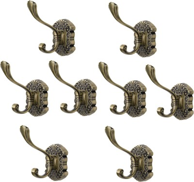 Dolphy Towel Clothes Wall Hanger (Set of 8) 1 - Pronged Hook