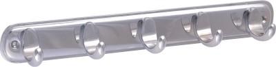 Klaxon Nova-5P Brass Chrome Plated 5 - Pronged Hook Rail