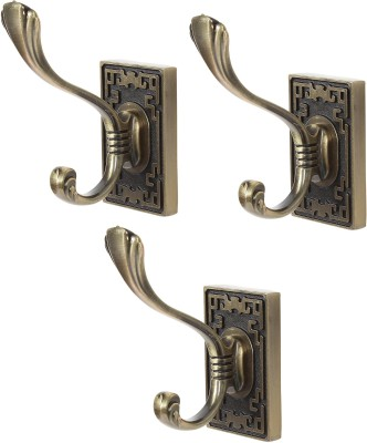 Dolphy Towel Clothes Wall Hanger (Set of 3) 1 - Pronged Hook