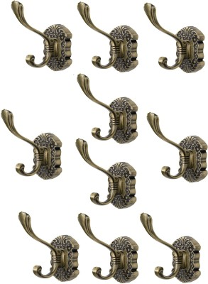 Dolphy Towel Clothes Wall Hanger (Set of 10) 1 - Pronged Hook