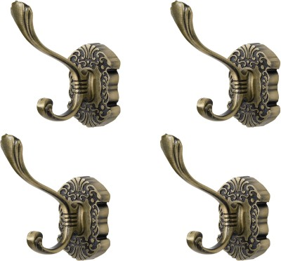 Dolphy Towel Clothes Wall Hanger (Set of 4) 4 - Pronged Hook