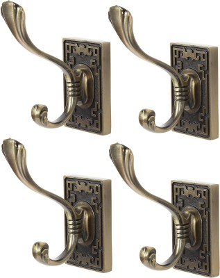 Dolphy Towel Clothes Wall Hanger (Set of 4) 1 - Pronged Hook