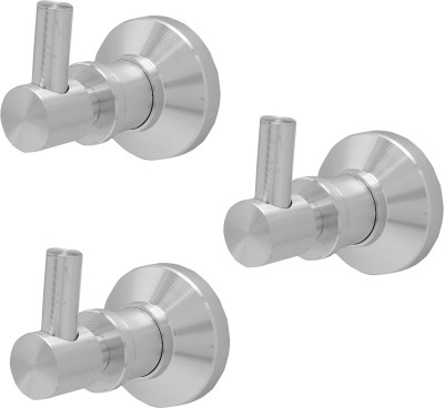 Dolphy Set of 3 Aluminium Robe hook 1 - Pronged Hook