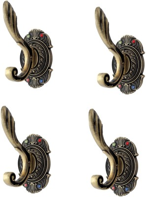 Dolphy Set Of 4 Towel Clothes Wall Hanger 1 - Pronged Hook