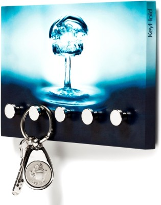 Regis Hold - Wall Key Holder,Rack (Vivid Splash) 5 - Pronged