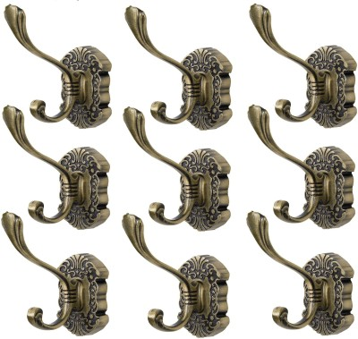 Dolphy Towel Clothes Wall Hanger (Set of 9) 1 - Pronged Hook