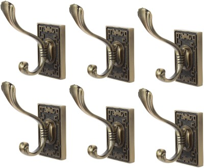 Dolphy Towel Clothes Wall Hanger (Set of 6) 1 - Pronged Hook