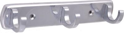 Klaxon Diana-3 Brass Chrome Plated 3 - Pronged Hook Rail