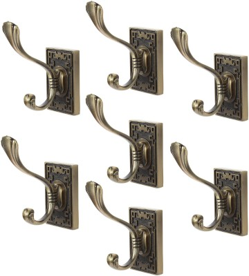 Dolphy Towel Clothes Wall Hanger (Set of 7) 1 - Pronged Hook
