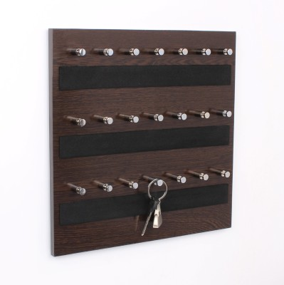 Regis Wall Mounted Box - Skywood Wenge Big 21 - Pronged Key Holder