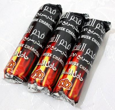 Al Alif Instant Burn Magic Coal Hookah Charcoals(Pack of 3)