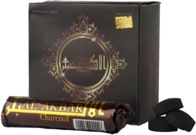 Al Akbar Pack Of 80 Premium Hookah Charcoals(Pack of 80)