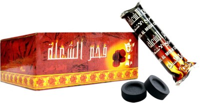 Jas Perfumes Hookah Charcoals(Pack of 10)