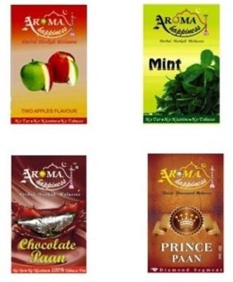 Aroma happiness herbal Double Apple, Pan Holic, Mint Hookah Flavor