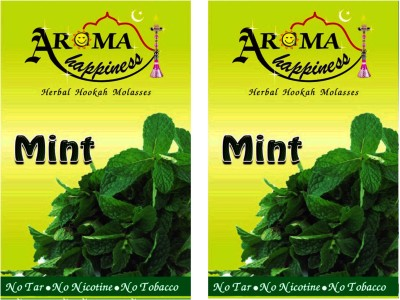 Aroma Happiness Pegs,N,Pipes Mint Hookah Flavor(100 g, Pack of 2)