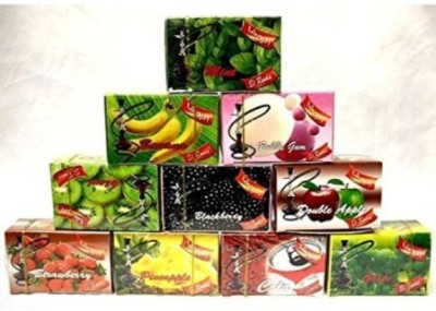 Desi Karigar Shisha Assorted Hookah Flavor 50 g, Pack of 10  available at Flipkart for Rs.810
