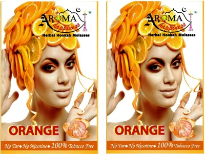 Aroma Happiness Pegs,N,Pipes Orange Hookah Flavor(100 g, Pack of 2)