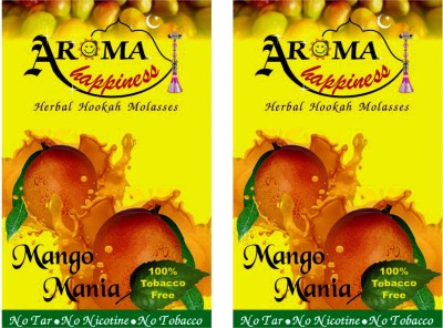Aroma Happiness Pegs,N,Pipes Tropical Mango Hookah Flavor(100 g, Pack of 2)