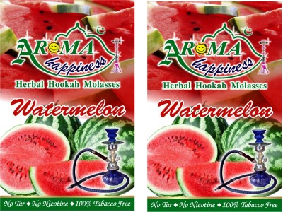 Aroma Happiness Pegs,N,Pipes Water Melon Hookah Flavor(100 g, Pack of 2)