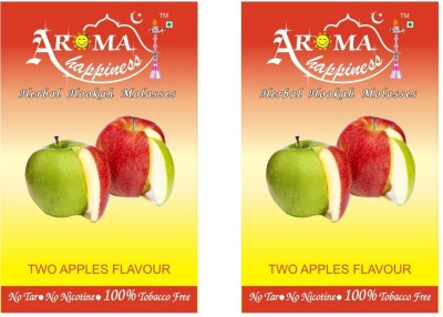 Aroma Happiness Pegs,N,Pipes Double Apple Hookah Flavor(100 g, Pack of 2)