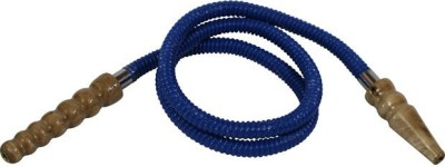 pegs,N,pipes Leatherette Blue Hookah Hose