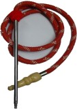 Berries Rubber Red Hookah Hose (Mouth Ti...